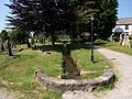 Leat, churchyard, Kingsteignton - geograph.org.uk - 1369768.jpg