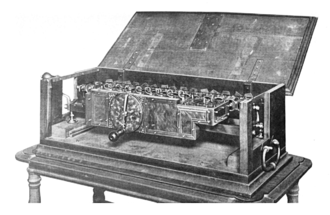 Arithmetic - Leibniz's Stepped Reckoner was the first calculator that could perform all four arithmetic operations.