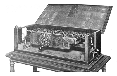 Leibniz's Stepped Reckoner was the first calculator that could perform all four arithmetic operations.