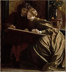 Frederic Leighton: The Painter's Honeymoon