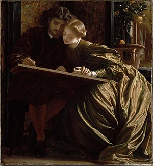 Leighton The Painter-s Honeymoon 1864.jpg