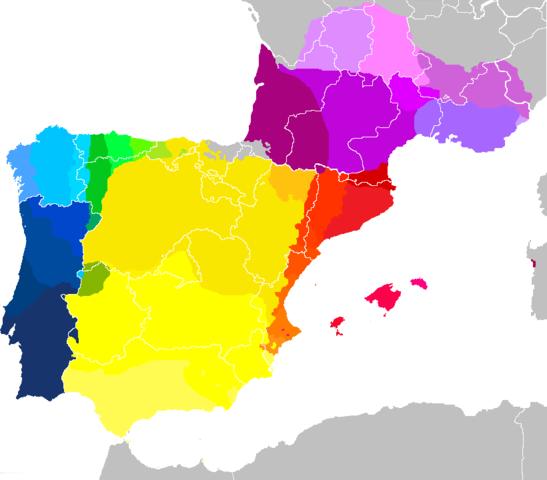 Iberian Peninsula South Of France And Balearic Islands