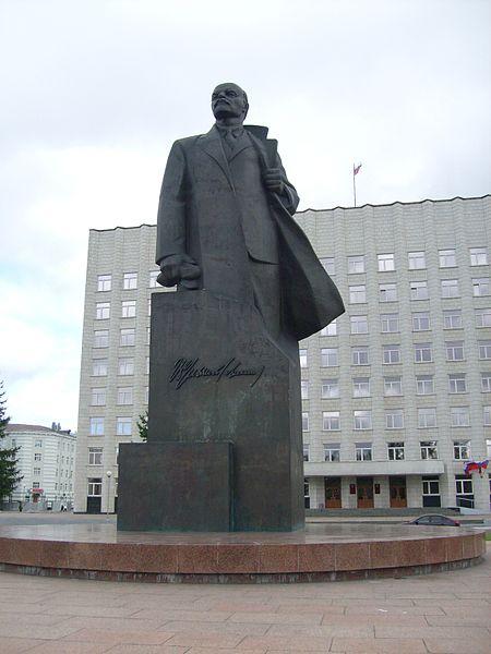 File:Lenin monument Arkhangelsk.jpg