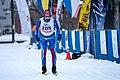 Lennart Karlsson of Landvetter Sweden skis in the Classic 42km race at Vasaloppet USA in Mora, Minnesota.jpg