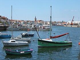 Le port de commerce des Sables-d'Olonne.