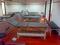 Lettini massaggio sala medica spogliatoio sansiro milan.jpg