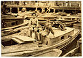 Lewis Hine, Fisher boys playing truant, Boston, 1909.jpg