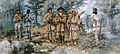 Lewis and Clark at Three Forks by Edgar S. Paxson, 1912.jpg