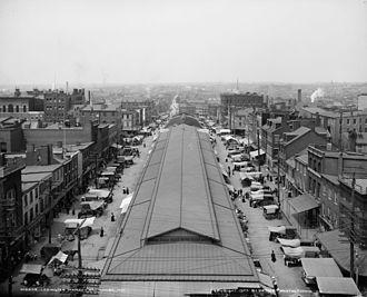 Lexington Market - Lexington Market circa 1903