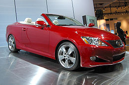 Lexus IS-C in Matador Red Mica.jpg