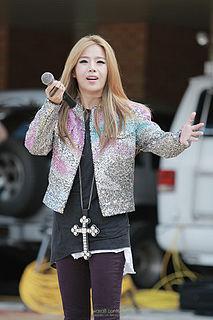 Lexy (singer) South Korean singer