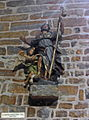 Liège, Collégiale St-Denis, statue Saint-Roche (C Vanderveeken).JPG