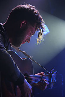 Liam Frost performing in Manchester January 2014.jpg