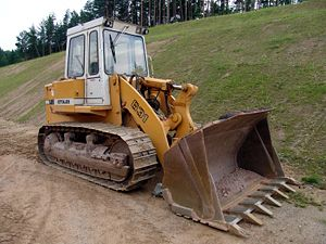 Tracked loader - Liebherr 631 tracked loader
