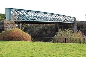 Liffey Railway Bridge - Image: Liffey Railway Bridge