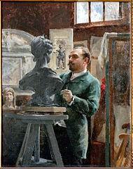 Le sculpteur Alphonse Cordonnier