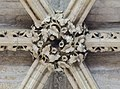 Lincoln Cathedral, Angel Choir Roof Boss, 6th from E. (39663508491).jpg