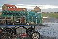 Lindisfarne Lobster Pots.JPG