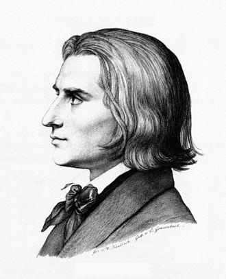 Lisztomania - Liszt in 1843
