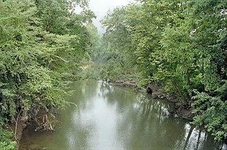 Coal River (West Virginia) - The Little Coal River near Julian