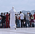 Living statue, Paris 2011.jpg