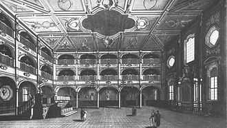 Xueta - Sinagoga de Livorno (built in the 17th century), city of reference for the majorcan criptojews.