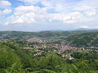 Langreo Municipality in Asturias, Spain