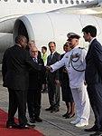 Llegada de Cyril Ramaphosa, presidente de Sudáfrica (31168671967).jpg