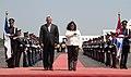 Llegada del VicePresidente de Cuba-Miguel Diaz Canel.jpg
