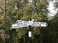 Local amenity sign posts, Aboyne - geograph.org.uk - 1517162.jpg