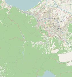 Position (the Sapporo city) of Miyanosawa
