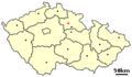 Location of Czech city Horice.png