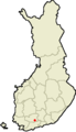 Location of Riihimäki in Finland.png