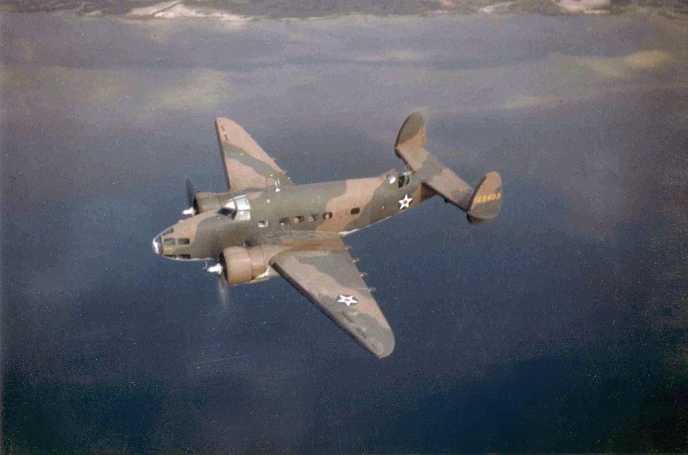 Lockheed A-29 Hudson USAAF in flight c1941