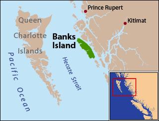Banks Island (British Columbia) island on the coast of the Canadian province of British Columbia