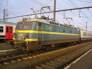 Belgian Railways Class 22 class of 50 Belgian electric locomotives