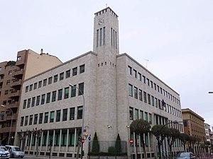 Spanish Tax Agency - AEAT headquarters in Logroño, Spain