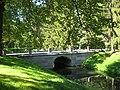 Lomonosov. Upper Park. Bridge at the U-shaped pond..JPG