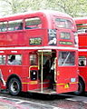 London Routemaster bus, route 38, Victoria, 26 April 2005.jpg