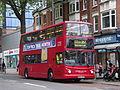 London United TA313 on Route 267, Turnham Green Church (14246184205).jpg
