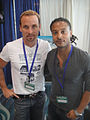 Long Beach Comic Expo 2012 - Colin Cunningham and Brandon Jay McLaren from TNT's Falling Skies.jpg