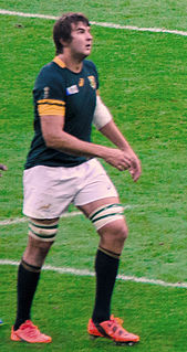 Lood de Jager South African rugby union footballer