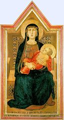 Madonna with child