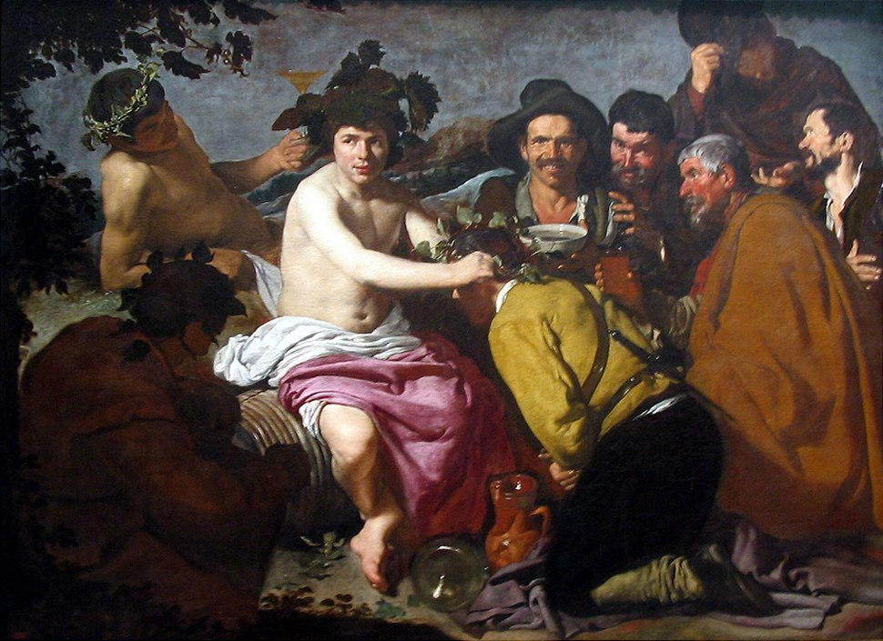 Los borrachos o el triunfo de Baco 1629 Velázquez