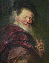 Antoine Coypel: Portrait of Democritus