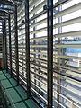 Louvre-style Screen inside Jubilee Library, Brighton.JPG