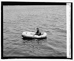 Lt. R.E. Byrd, U.S.N., in rubber life boat, (4-27-25) LCCN2016839691.jpg
