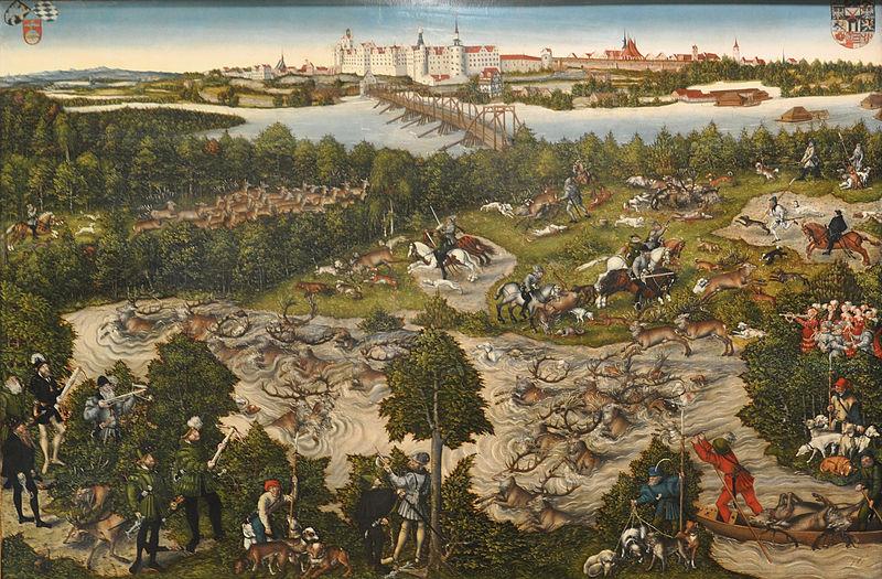 File:Lucas Cranach dJ Hirschjagd KHM 1.jpg