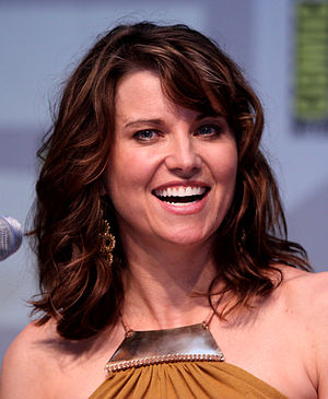A Piñata Named Desire - Lucy Lawless made a guest appearance on the episode
