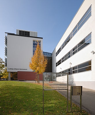 Kirchheim unter Teck - The Ludwig-Uhland-Gymnasium